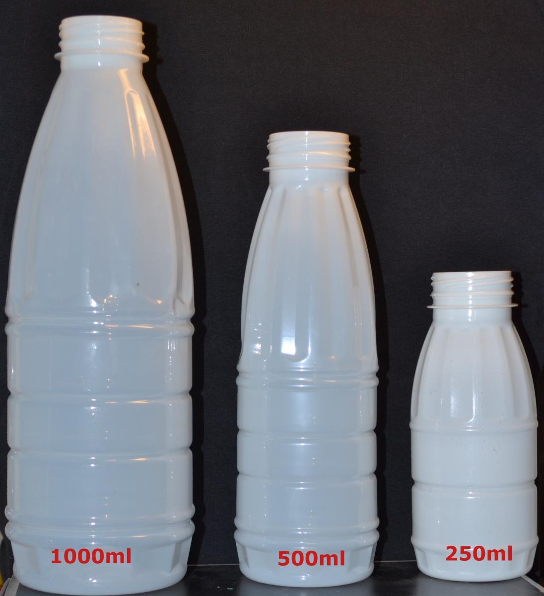 φιάλες γάλακτος χυμού