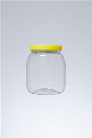 βάζο 2 lt μελιού - λαιμός 110mm,βάρος 110gr,διάμετρος 14.5cm και ύψος 16.5cm,κωδικός 21.170.00.