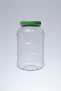βάζο 1 gallon - λαιμός 110 mm,βάρος 110 gr,διάμετρος 15.0 cm και ύψος 25.5 cm,κωδικός 21.170.002.