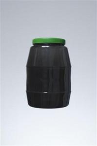 βάζο 3.3 lt - λαιμός 110 mm,βάρος 135 gr,διάμετρος 15.5 cm,ύψος 25.5 cm.