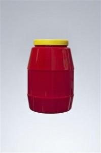 βάζο 3.3 lt - λαιμός 110 mm,βάρος 135 gr,διάμετρος 15.0 cm και ύψος 25.5 cm,κωδικός 21.170.007.